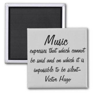 La música expresa… imanes