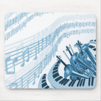 La música fresca observa el cojín de ratón alfombrilla de ratón
