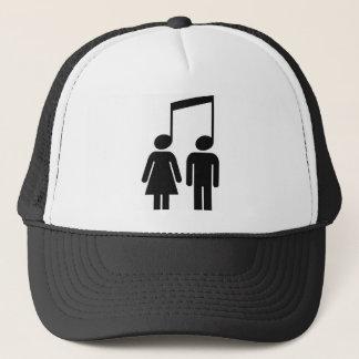 La música nos une gorra de camionero