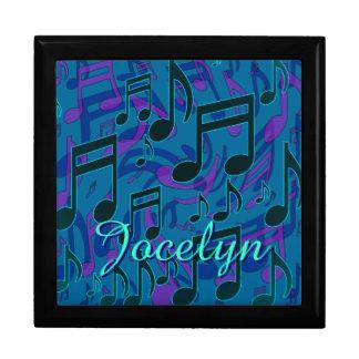 La música observa nombre de la púrpura del verde joyero