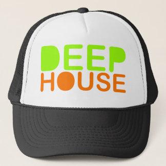 la música profunda DJ de la casa diseña la gorra
