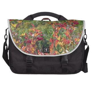 La naturaleza canadiense colorea la diversión de bolsas para portátil
