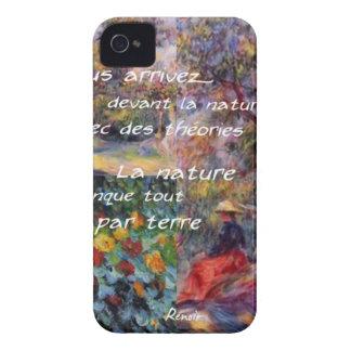 La naturaleza es potente en la creación del arte carcasa para iPhone 4