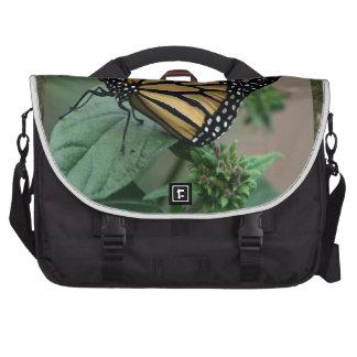 La naturaleza LINDA del insecto de la mariposa Bolsa Para Ordenador