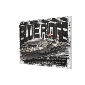 La nave Ridge azul del comando estiró la impresión