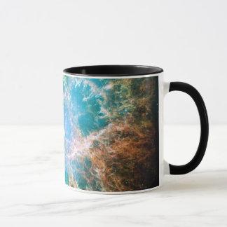 La nebulosa de cangrejo taza