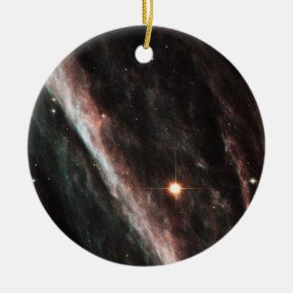 La nebulosa del lápiz ornamento para arbol de navidad