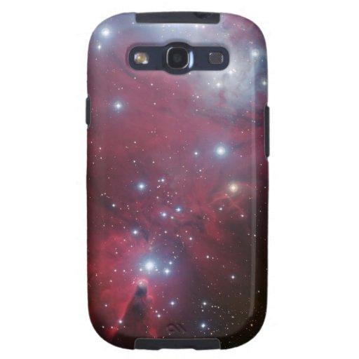 La nebulosa protagoniza la naturaleza fresca del f samsung galaxy SIII funda
