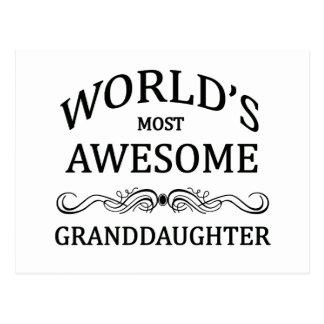 La nieta más impresionante del mundo postal