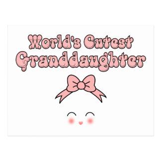 La nieta más linda del mundo postal