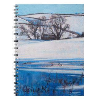 La nieve sombrea 2010 cuadernos