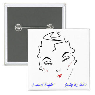La noche de las señoras de Bachelorette Pin
