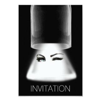 La noche de los chicas hacia fuera va de fiesta la invitación 8,9 x 12,7 cm