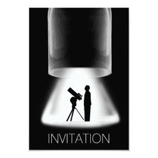 La noche de los muchachos hacia fuera va de fiesta invitación 8,9 x 12,7 cm