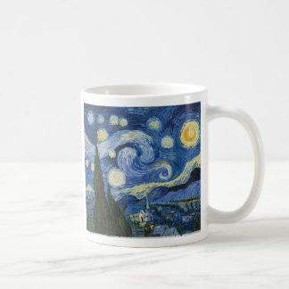 La noche estrellada de Vincent van Gogh Taza De Café