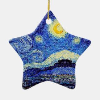 La noche estrellada inspiró el ornamento de Van