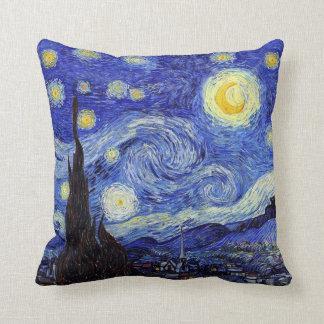 La noche estrellada Van Gogh inspiró las almohadas