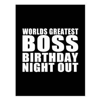 La noche más grande del cumpleaños de Boss de los