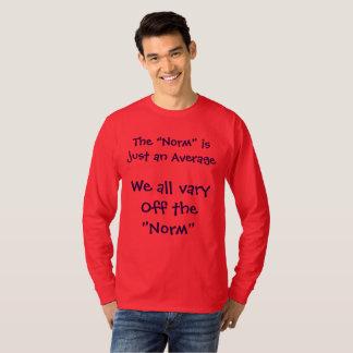 La norma es apenas una camisa media