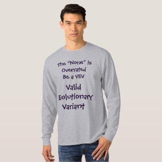 La norma es camisa sobrestimada