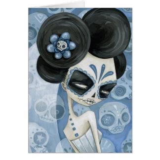 La Novia de los muertos Tarjeton
