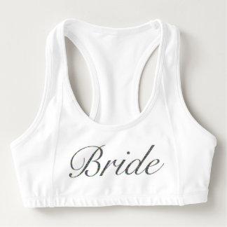 La novia se divierte el sujetador sujetador deportivo