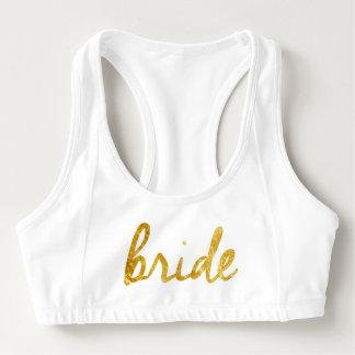 ¡La novia se divierte el sujetador! Sujetador Deportivo