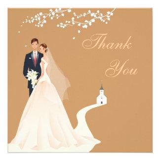 La novia y la iglesia y el flor del novio le agrad anuncios