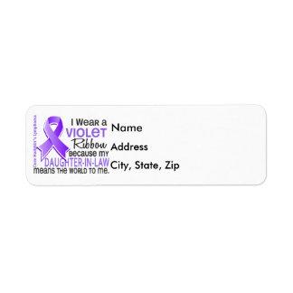 La nuera significa el mundo a mí linfoma de 2 H Etiqueta De Remitente