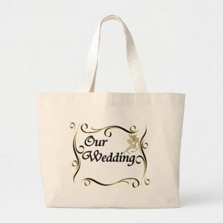 La nuestra bolsa de asas del boda