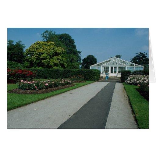La nueva casa del lirio de agua, Kew cultiva un hu Tarjeton