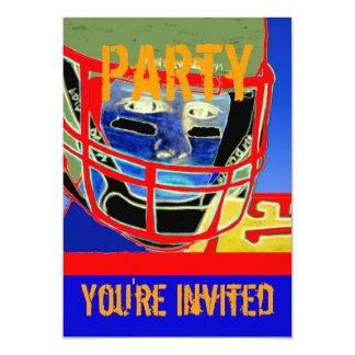 La nueva fiesta de cumpleaños del fútbol invitación 12,7 x 17,8 cm