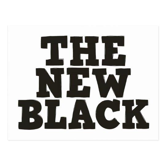 La nueva postal negra