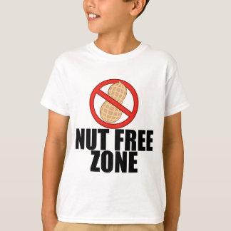 La nuez de la alergia del cacahuete libera al niño camiseta