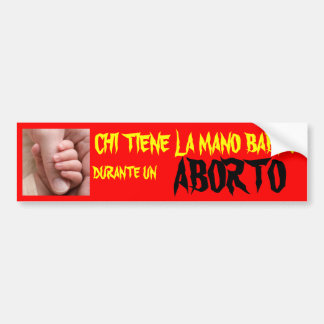 LA O.N.U ABORTO DEL LA MANO DURANTE DE LA JI TIENE ETIQUETA DE PARACHOQUE