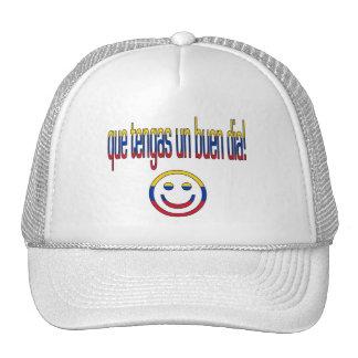 ¡La O.N.U Buen Día de Que Tengas! Colores de la ba Gorras De Camionero