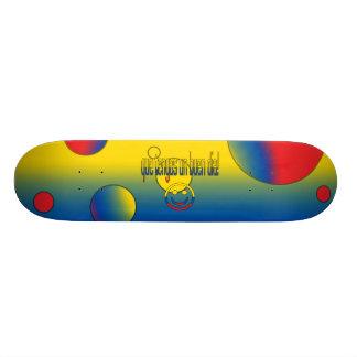 ¡La O N U Buen Día de Que Tengas Colores de la ba Patín Personalizado