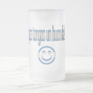 ¡La O.N.U Buen Día de Que Tengas! Colores de la ba Tazas De Café