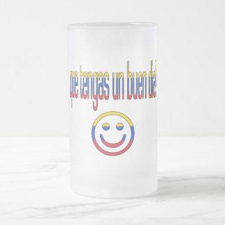 ¡La O N U Buen Día de Que Tengas Colores de la ba Tazas De Café