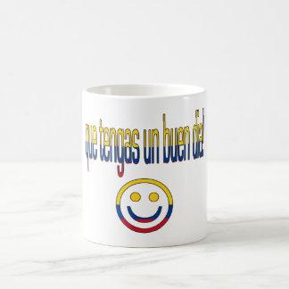 ¡La O.N.U Buen Día de Que Tengas! Colores de la Taza De Café
