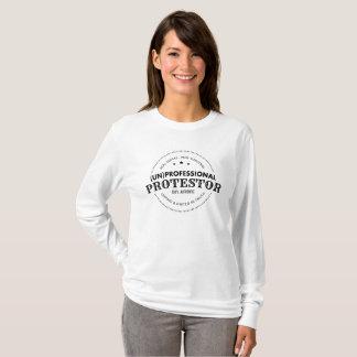 (la O.N.U) Camiseta profesional del Protestor (LS