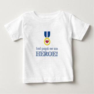 ¡La O.N.U Héroe del MI Papá es del ¡! Camiseta De Bebé