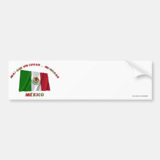 La O.N.U Lugar de México - de Más Que Etiqueta De Parachoque