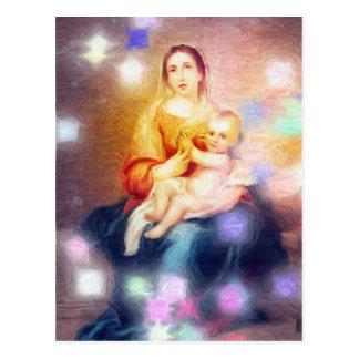 La obra maestra de dios es madre postal