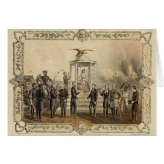 La oferta pasada de presidente Lincoln de la recon Felicitaciones