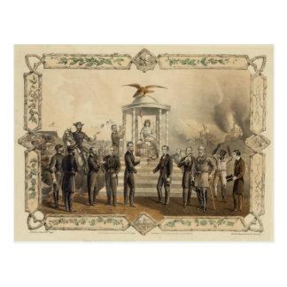 La oferta pasada de presidente Lincoln de la recon Tarjetas Postales
