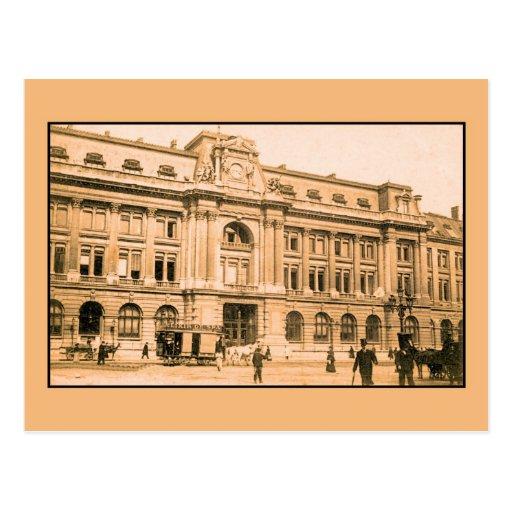 La oficina de correos de bruselas horsecar tarjetas for Oficina de correos en alcobendas