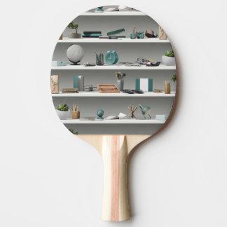 La oficina deja de lado el trullo de la salud pala de ping pong