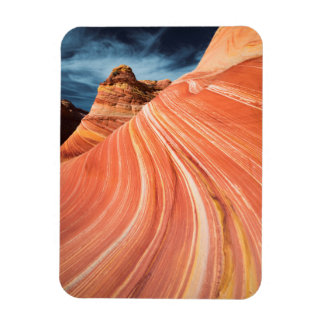 La onda, acantilados bermellones, Arizona Imán