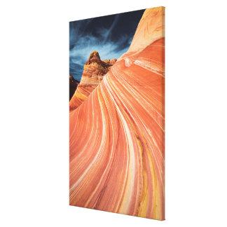 La onda, acantilados bermellones, Arizona Lienzo